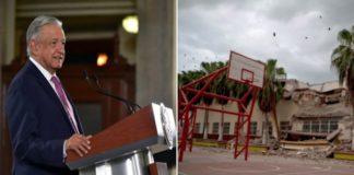 AMLO: Aún hay afectaciones del 19S, se repararán instalaciones públicas