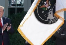 Trump, Comando Espacial