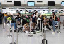 Hong Kong reprograma centenar de vuelos tras manifestaciones