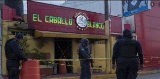 Zetas y Cártel de Jalisco implicados en ataque al bar Caballo Blanco