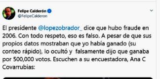 Calderón es tundido en redes