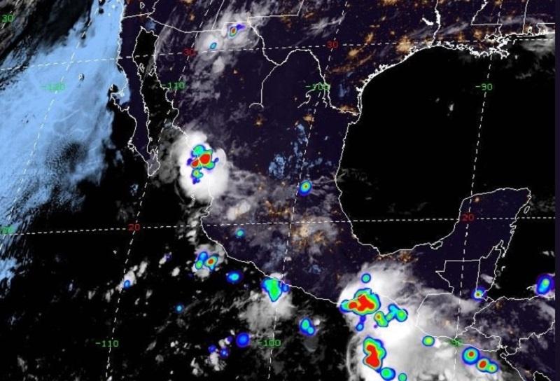 Se prevén lluvias intensas en varios estados de la República