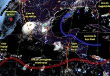 Onda tropical No. 32 afectará el sureste y la península de Yucatán
