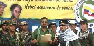 Márquez, numero 2 de las FARC, anuncia nuevo levantamiento