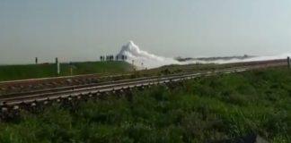 Desalojo en Nextlalpan por fuga de gas en toma clandestina
