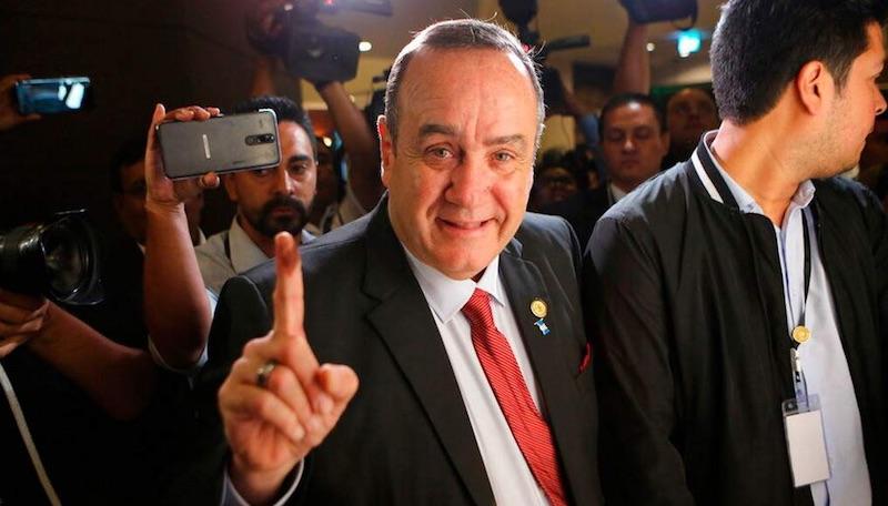 La derecha a la presidencia de Guatemala, triunfa Alejandro Giammattei