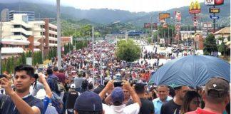 Honduras, movilziaciones contra presidente narco