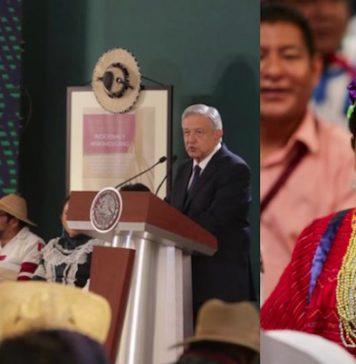 AMLO conmemora Día internacional de los Pueblos Indígenas