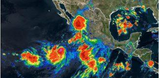 Ivo, lluvias al norte de México