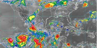 Lluvias, imagen de satelite