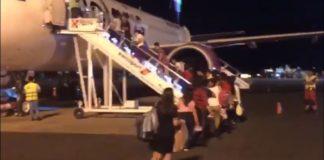 INM repatria, vía aérea, a 106 migrantes originarios de El Salvador