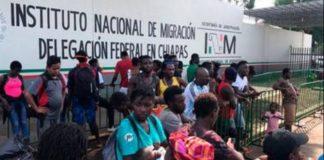 Migración, México, Tapachula