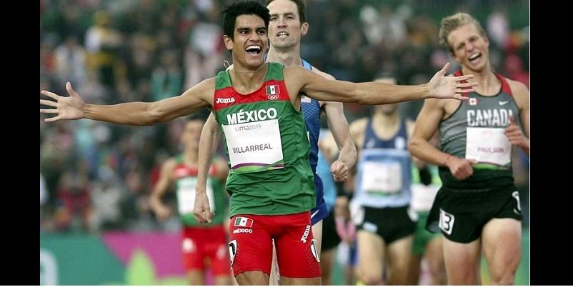 Oro para México, Panamericanos, José Villarreal, 1500 m planos