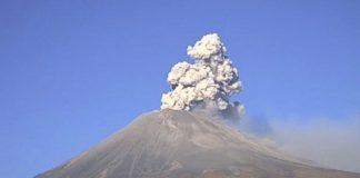 Reportan caída de ceniza del Popocatépetl en tres alcaldías de la CDMX