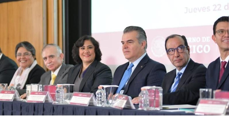 Proveedores íntegros, acto de presentación, gobierno de México