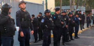 policía México, Reclusorio Oriente