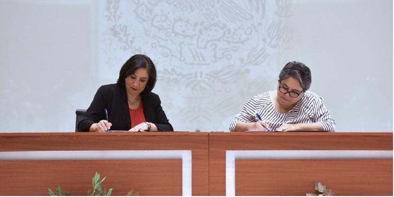Transparencia, firma de convenio Hacienda y Función Pública de México
