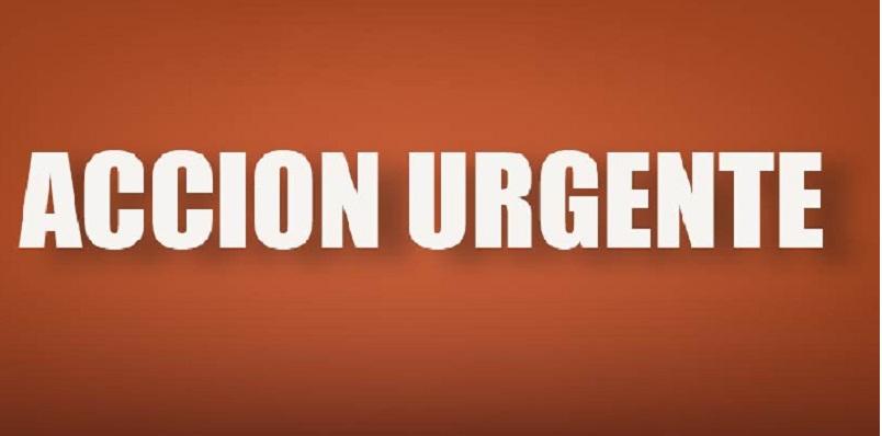 Texto: Acción Urgente