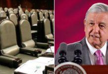AMLO a favor de la eliminación de legisladores plurinominales