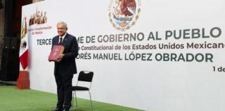 Desde Palacio Nacional, AMLO presenta su ¿Tercer Informe? ¿por qué?