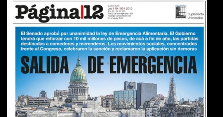 Página 12, Argentina