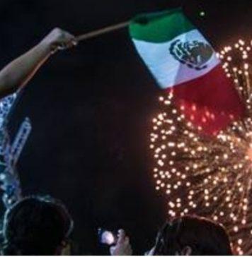 México bandera