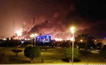 Arabia Saudita, ataque con drones a refinería
