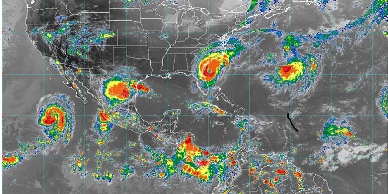mapa de ciclones, 4 de septiembre del 2019