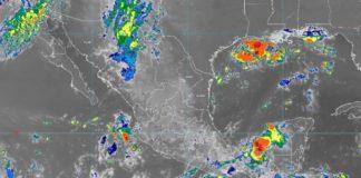 Fuerte potencial de lluvias en Jalisco, Colima, Oaxaca y Tamaulipas