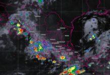 Potencial de lluvias en todo el país por humedad de océanos
