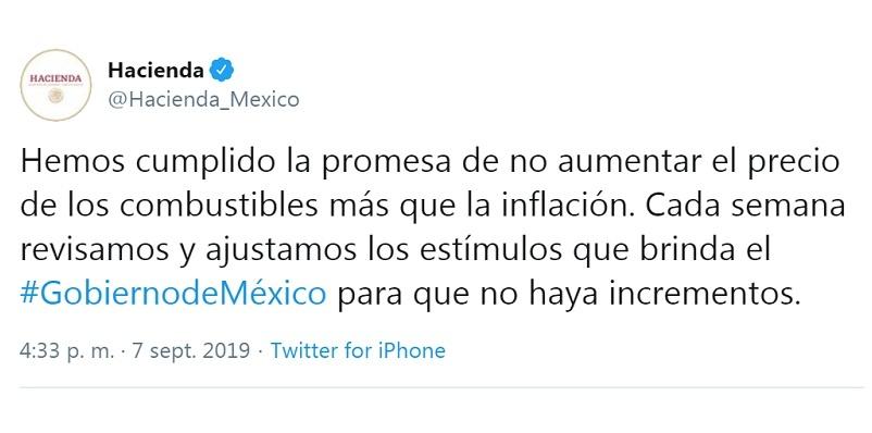 Fake news gasolinazo en México