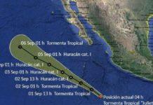 Juliette pasa sin afectar territorio Nacional; hoy, lluvias en el sur y noroeste