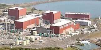 Laguna Verde, nucleoeléctrica