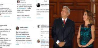 Oposición reconoce Grito austero y solemne de AMLO