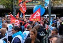 Transportistas paralizan París, protestan contra reforma pensional