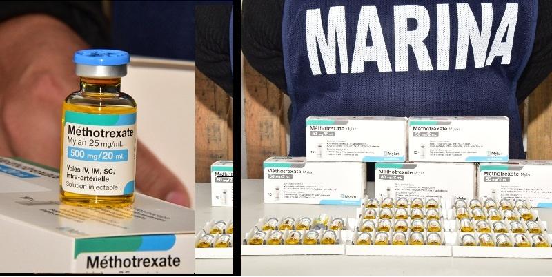 Salud, Marina y Hacienda importan medicamento
