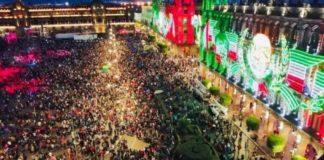 Antes del Grito, actividades culturales en el Zócalo