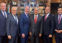 AMLO se reúne con legisladores de EU, hablan sobre el T-MEC
