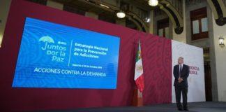 AMLO: Garantizar el bienestar de los jóvenes para combatir las adicciones