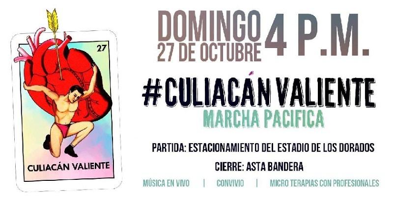 Culiacán, Sinaloa, por la Paz