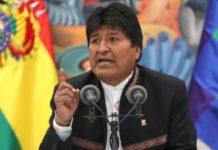 """Evo Morales pronuncia triunfo y denuncia """"golpe de Estado"""" en Bolivia"""