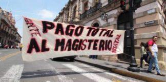 Ordena gobernador no pagar a 5 generaciones de maestros en Michoacán