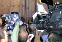 Palacio Nacional, alcaldes del PAN irrumpen