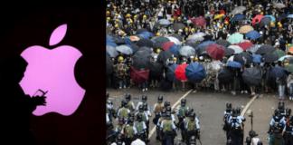 China se va contra Apple por app para rastrear polícias en Hong Kong