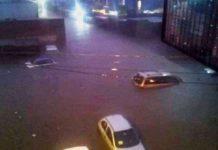 Cuernavaca inundado