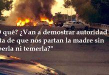Culiacán, no tienen derecho a pedir masacre