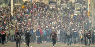 Ecuador en llamas
