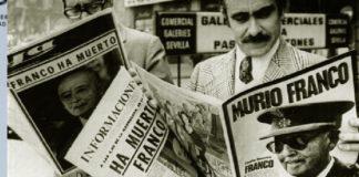 Francisco Franco, retiran restos de mausoleo