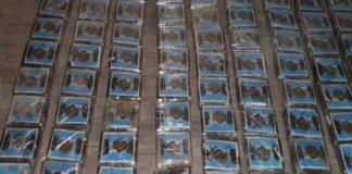 Ejército decomisa 225 kilogramos de cocaína en Tamaulipas