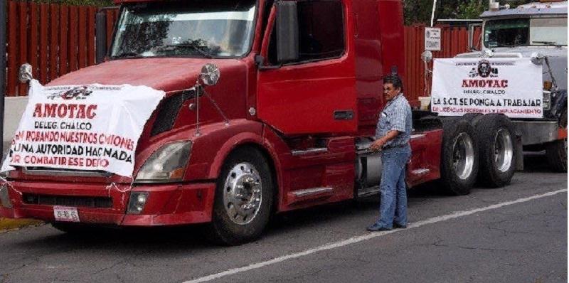 Transportistas, movilización sin afectaciones
